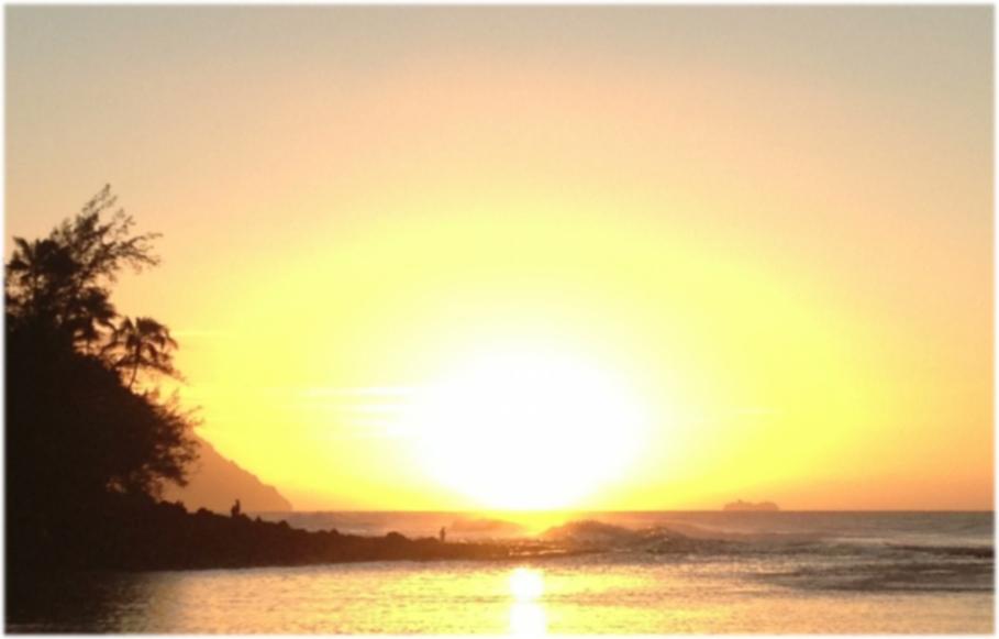 Ke'e Sunset Bliss